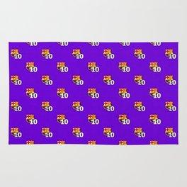 FC Barcelona Pattern Rug