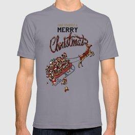Pugs Christmas T-shirt