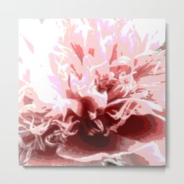 Floral shapes and colors Metal Print