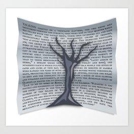 Treevile Art Print