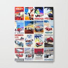 Monaco Grand Prix 1930 1966 Metal Print