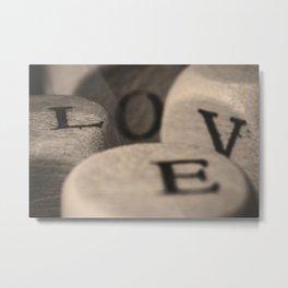 Love is complicated Metal Print