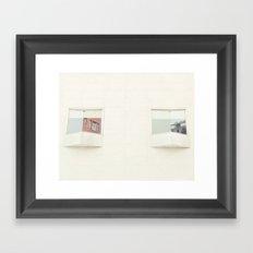 Cast Back Framed Art Print