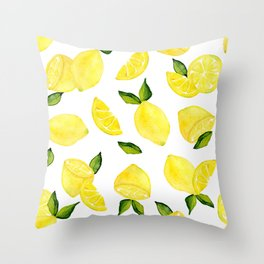 Make Lemonade! Throw Pillow