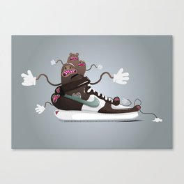 Sneaker's lover Canvas Print