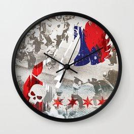 Molotov Riot Wall Clock