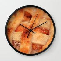 dessert Wall Clocks featuring Dessert by silverstreaked