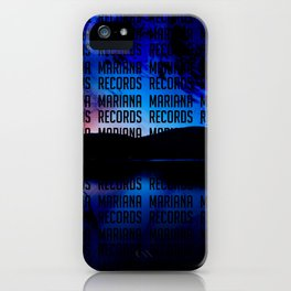 Spaceset with Words iPhone Case
