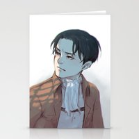 levi Stationery Cards featuring Levi by sushishishi
