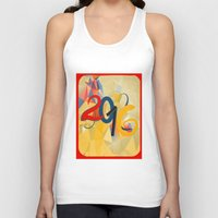 new year Tank Tops featuring new year by luiza13