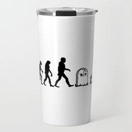 Zombie Evolution Travel Mug