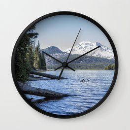 South Sister from Sparks Lake Wall Clock