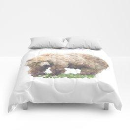 Penrose Tiling Bear Comforters