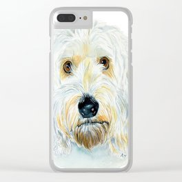 Labradoodle Maggie Clear iPhone Case