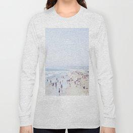 Santa Monica, California - Vertical Long Sleeve T-shirt
