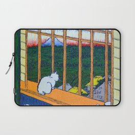 Asakusa Tanbo Tori No Machi Mode (after Hiroshige) Laptop Sleeve