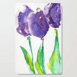 flower X Cutting Board