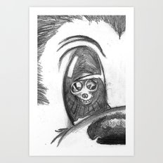 mick-eye. Art Print