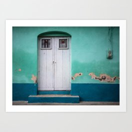 Doors of Antigua Art Print