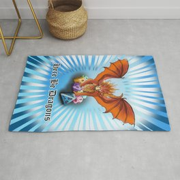 Here Be Dragon and Dice Rug