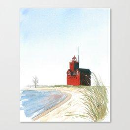 Big Red Canvas Print