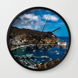 Santa Catalina Island, California color photograph / photography / photographs Wall Clock