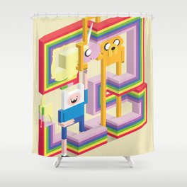Mathematical! Shower Curtain