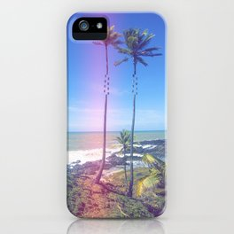 Fragmented Palm iPhone Case