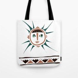 Elments-Fire/Sun Tote Bag