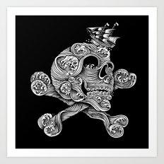 A Pirate Adventure Art Print