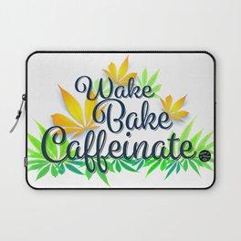 Wake Bake Caffeinate Laptop Sleeve