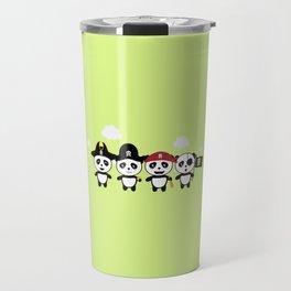 Panda Pirates Crew T-Shirt for all Ages Dt4v1 Travel Mug