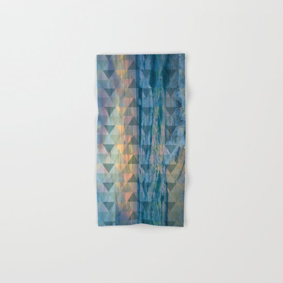 Beach mosaic Hand & Bath Towel