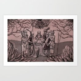 Folklore Art Print