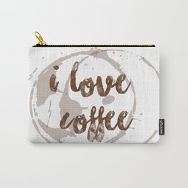 i love coffee Carry-All Pouch