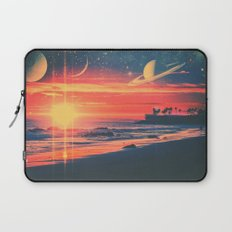 A Fax From the Beach Laptop Sleeve