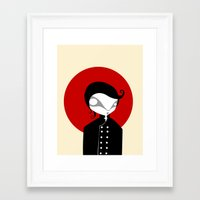 alone Framed Art Prints featuring Alone by Volkan Dalyan
