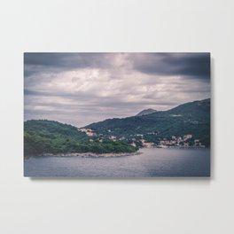Dubrovnik Landscape Metal Print