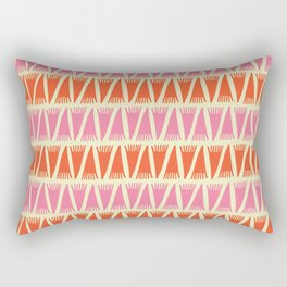 Tee Pee Sixties Rectangular Pillow