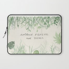 Collect Moments foliage watercolor Laptop Sleeve