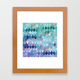 SUMMER MERMAID II Framed Art Print