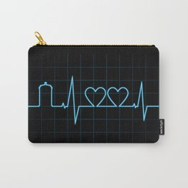 Two Heartbeats Carry-All Pouch
