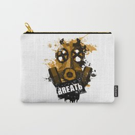 [ breath - grunge version ] Carry-All Pouch