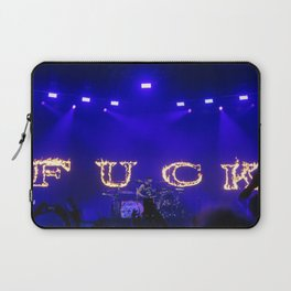Cause I fell in love with a girl at the rock show Laptop Sleeve