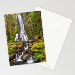 Lower Kentucky Falls in Spring Stationery Cards