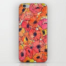 Poppy Pandemonium  iPhone Skin