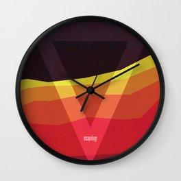 escapology Wall Clock