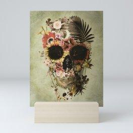 Garden Skull Light Mini Art Print