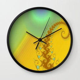 Sun Worship Wall Clock