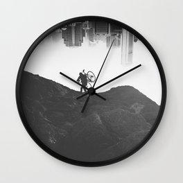 You turn my world upside down Wall Clock